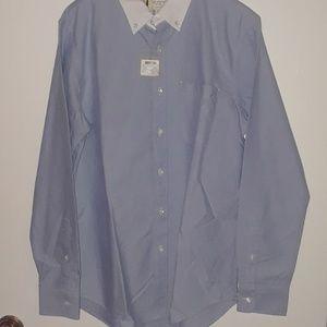 Club Monaco slim fit mens shirt M